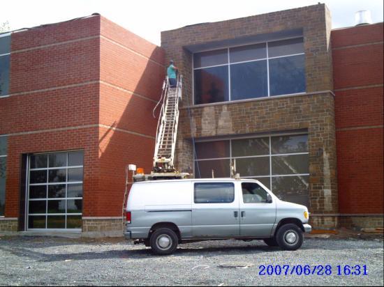 Nettoyage pression bâtiment